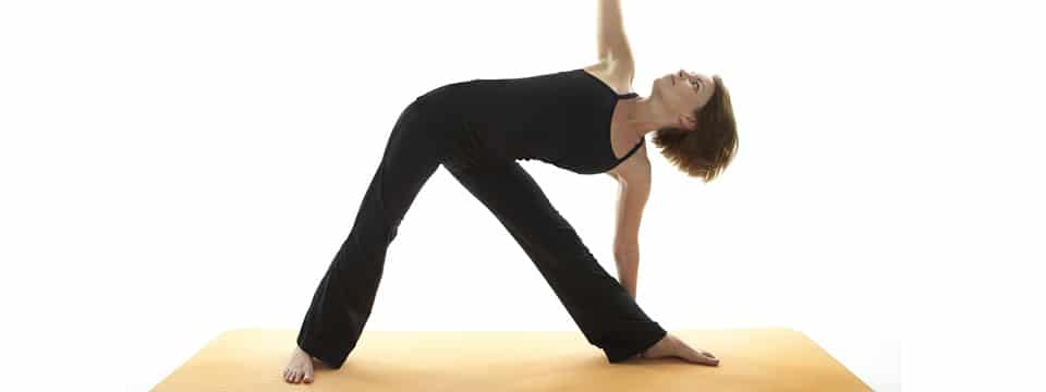 Yoga-Postura del Triangolo