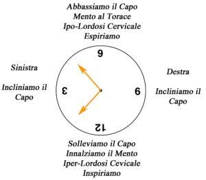 clock cervicale su fitball