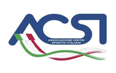 Accreditamento ACSI (Ente di Promozione Sportiva riconosciuto dal CONI)